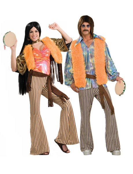 60's Sonny & Cher Couple Costumes