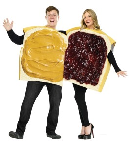 Peanut Butter and Jelly costume ideas for couples